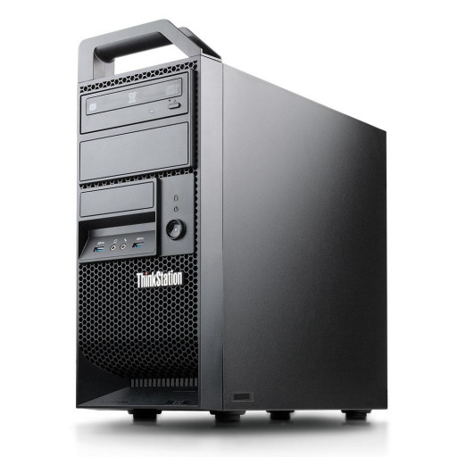 Lenovo ThinkStation E32 Intel Xeon E3-1220 v3 3.10GHz, 8GB DDR3, 256GB SSD, DVD-RW, 1GB GeForce 605, Tower, workstation refurbished