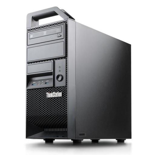 Lenovo ThinkStation E32 Intel Xeon E3-1220 v3 3.10GHz, 8GB DDR3, 256GB SSD, DVD-RW, 1GB GeForce 605, Tower, Windows 10 Pro MAR, workstation refurbished