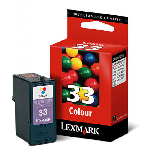 Cartus Lexmark 18CX033E Nr. 33 Color