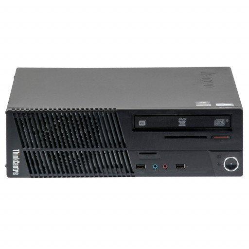 Lenovo ThinkCentre M72E Intel Core i3-3220 3.30 GHz, 4 GB DDR 3 SODIMM, 250 GB HDD, DVD-RW, SFF