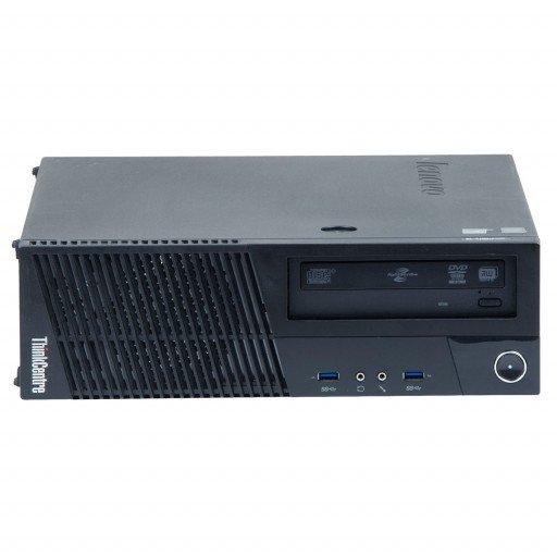 Lenovo Thinkcentre M93P, Intel Core i5-4570 3.20 GHz, 8 GB DDR 3, 500 GB HDD, DVD-RW, SFF