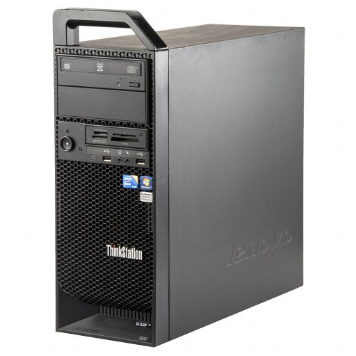 Lenovo ThinkStation S20 Intel Xeon W3505 2.53 GHz, 8 GB DDR 3 ECC, 250 GB HDD, DVD-RW, 1 GB GeForce 605, Tower
