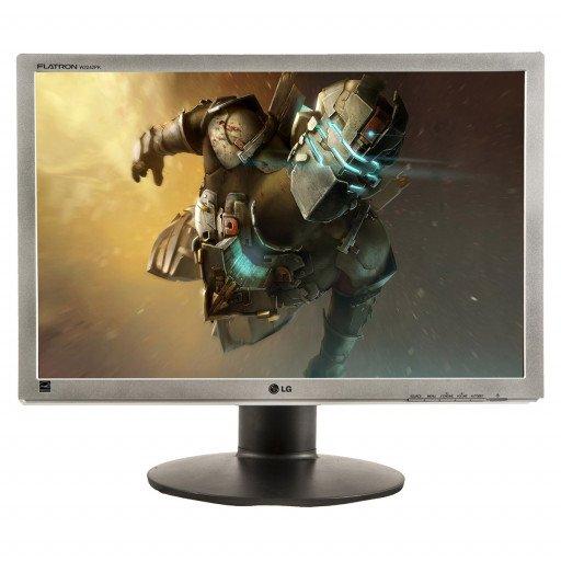 LG W2242PK, 22 inch LCD, 1680 x 1050, 16:10, negru - argintiu
