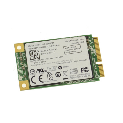 SSD Lite On 128 GB mSATA - second hand