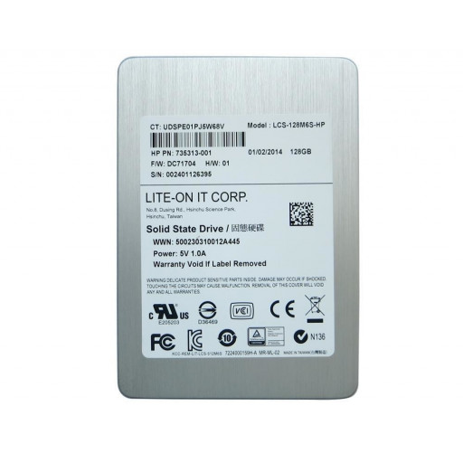 "SSD LiteOn M6S 128 GB 2.5"" - second hand"