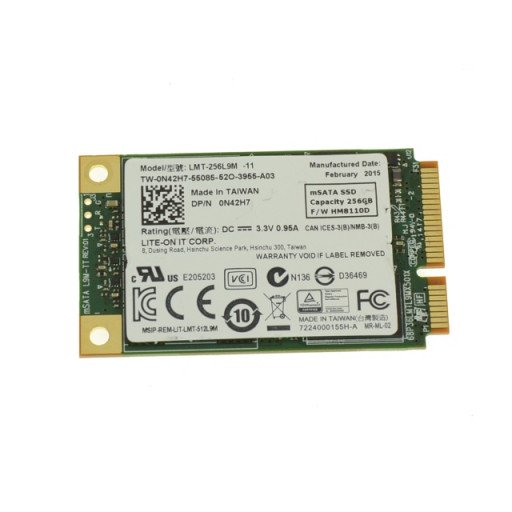 SSD Lite On 256 GB mSATA - second hand