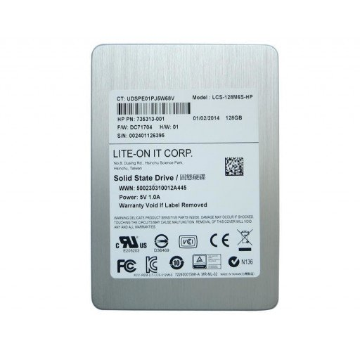 "SSD LiteOn M6S 128 GB 2.5"" - second hand"