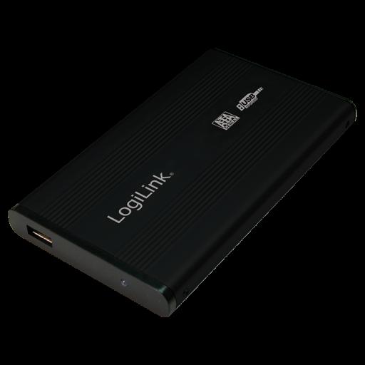 Rack extern LogiLink UA0041B pentru HDD/ SSD, USB 2.0 - Black