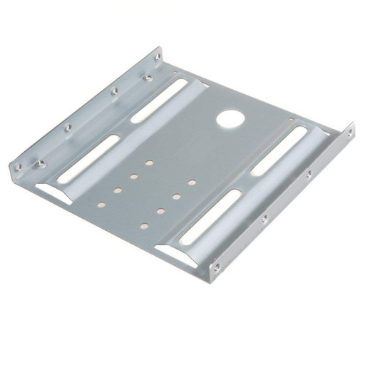 "Adaptor fixare SSD/ HDD 2.5"" in bay de 3.5"" Maclean Brackets MC-655 - Silver"