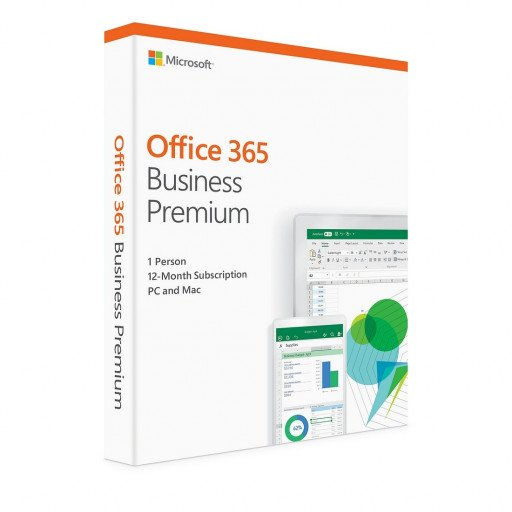 Licenta Microsoft Office 365 Business Premium  - 1 utilizator / 15 dispozitive / 1 an