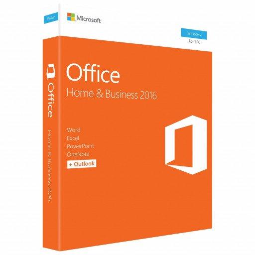 Licenta Microsoft Office Home & Business 2016 32/64 bit English - Retail