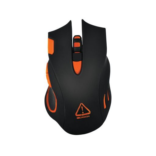 Mouse gaming Canyon Corax CND-SGM5N USB - Black/Orange