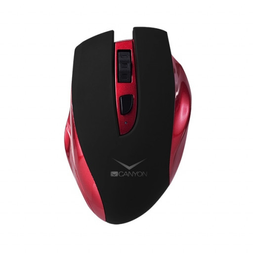 Mouse wireless reincarcabil Canyon CNS-CMSW7R - Red