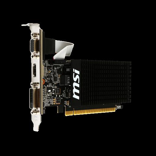 Placa video MSI nVidia GeForce GT710 (GT 710 2GD3H LP) 2 GB DDR3 64 bit - nou