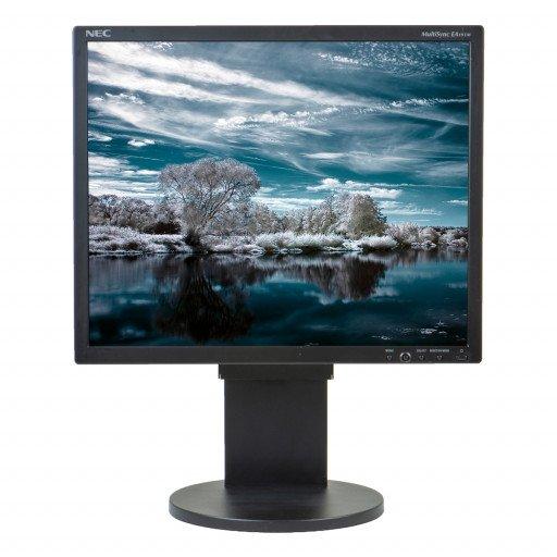 NEC EA191M, 19 inch LED, 1280 x 1024, displayport, negru - argintiu