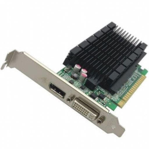 Placa video Fujitsu GeForce 605 DP 1 GB DDR3 - second hand