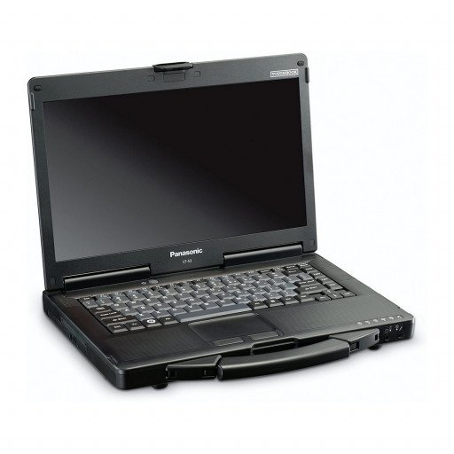 Panasonic ToughBook CF-53 mk.3 laptop semi-rugged second hand reconditionat