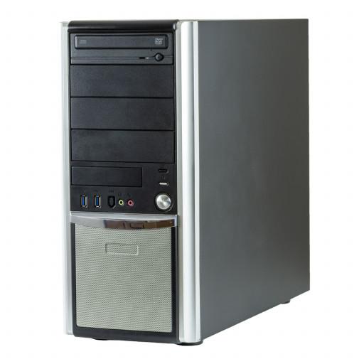 Calculator Gaming PC House BossSlayer Intel Core i7-6700 3.40GHz, 16GB DDR4, 480GB SSD nou, DVD-ROM, placa video noua nVidia GTX 1660 6GB GDDR6, Tower, Windows 10 Pro MAR, calculator refurbished