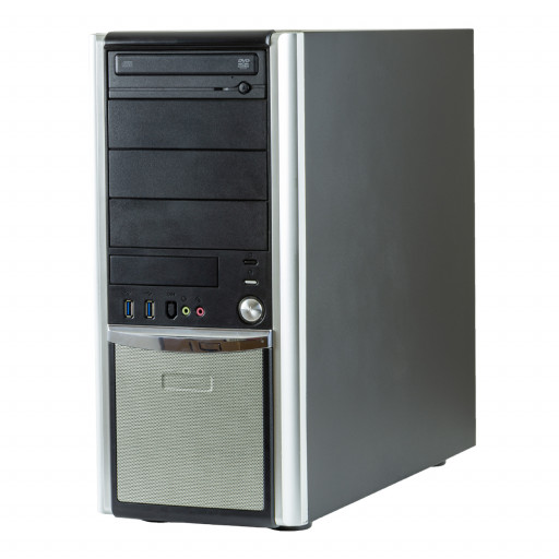 Calculator Gaming PC House BossSlayer Intel Core i7-6700 3.40GHz, 16GB DDR4, 480GB SSD nou, DVD-ROM, placa video noua nVidia GTX 1660 6GB GDDR6, Tower, calculator refurbished