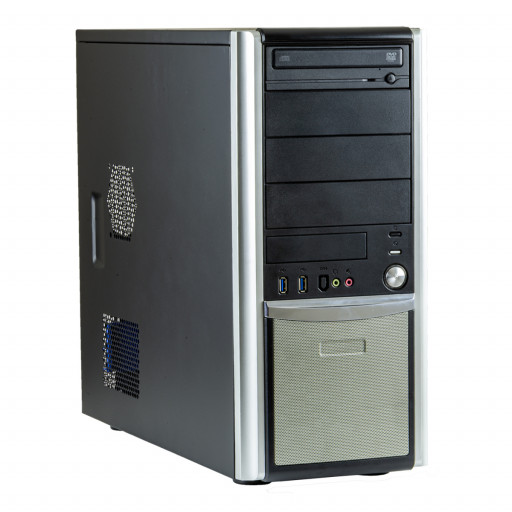 Calculator Gaming PC House MobFighter Intel Core i7-6700 3.40GHz, 8 GB DDR4, 240GB SSD, DVD-ROM, 4 GB GeForce GTX 1650, Tower