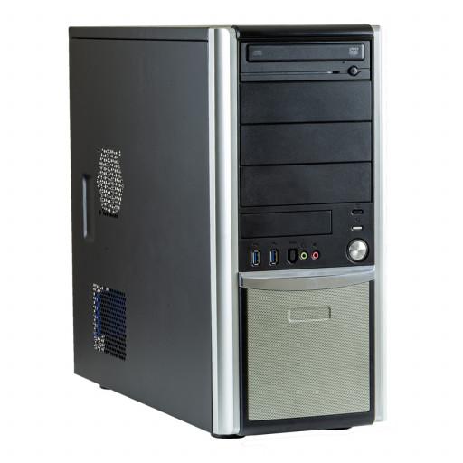 Calculator Gaming PC House MobFighter Intel Core i7-6700 3.40GHz, 8 GB DDR4, 240GB SSD nou, DVD-ROM, placa video noua 4 GB GeForce GTX 1650, Tower, Windows 10 Pro MAR, calculator refurbished