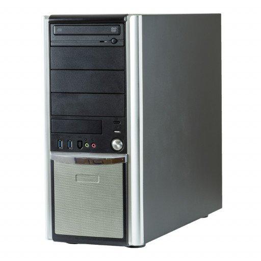 Calculator Gaming PC House CoinSaver Intel Core i3-6100 3.70 GHz, 8 GB DDR4, 500 GB HDD, DVD-ROM, placa video noua 4 GB GeForce GTX 1050 Ti, Tower, calculator refurbished