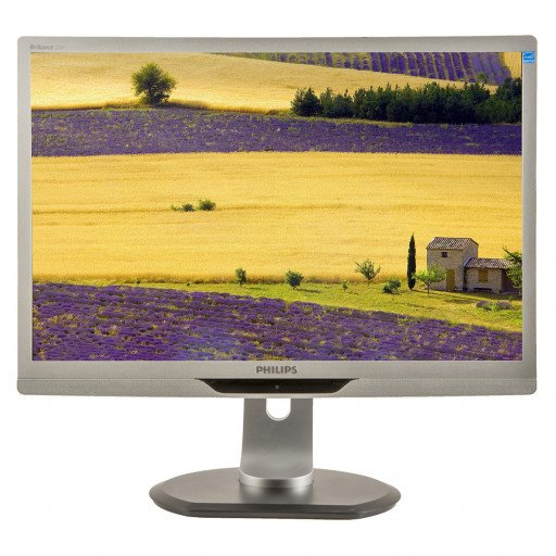 Philips 220P, 22 inch LED, 1680 x 1050, 16:10, displayport, negru - argintiu