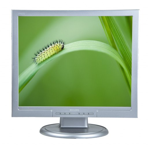 Philips 190S7, 19 inch LCD, front