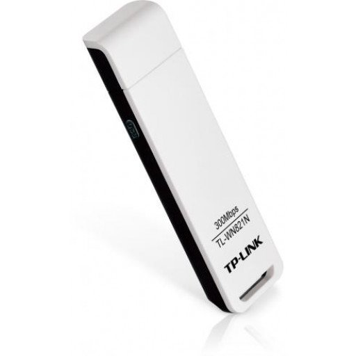 Adaptor USB Wireless N TP-Link TL-WN821N - 300Mbps
