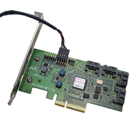 Raid Controller Marvell VA2400s 4x SAS/SATA2 - second hand