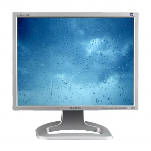 Samsung SyncMaster 214T, 21 inch LCD, 1600 x 1200, argintiu