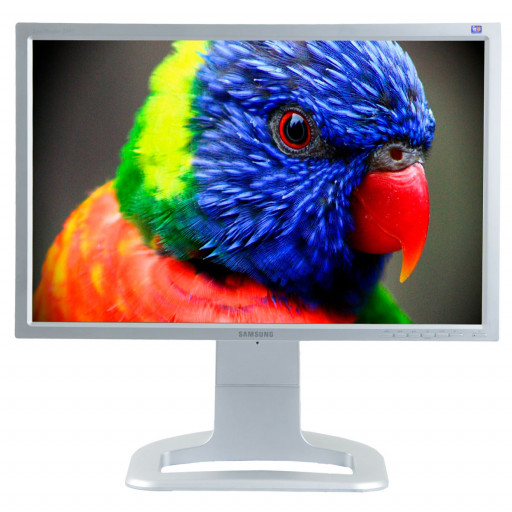 Samsung 244T, 24 inch LCD, 1920 x 1200 Full HD, 16:10, gri - argintiu
