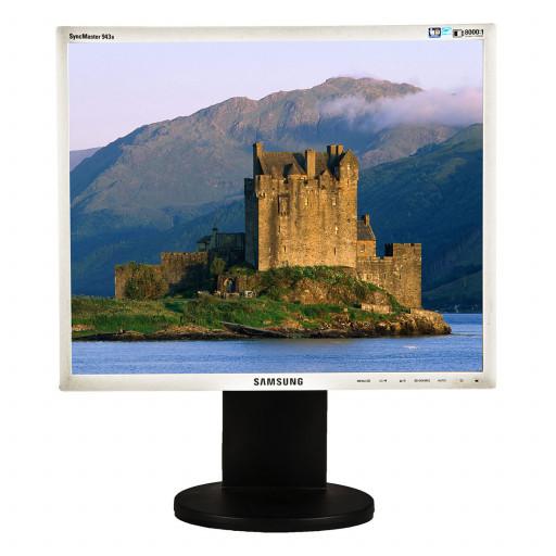 Samsung 943BM, 19 inch LCD, 1280 x 800, negru - argintiu