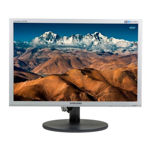 Samsung B2240MW, 22 inch LCD, 1680 x 1050, 16:10, negru - argintiu