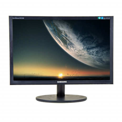 Samsung BX2440, 24 inch LED, 1920 x 1080 Full HD, 16:9, displayport, negru, monitor refurbished