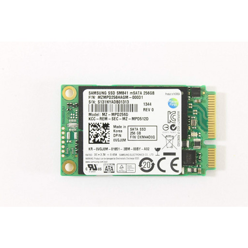 SSD Samsung SM841N 256 GB mSATA - second hand