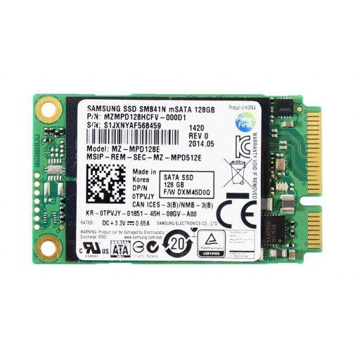 SSD Samsung SM841N 128 GB mSATA - second hand
