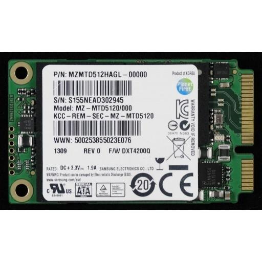 SSD Samsung PM871 512 GB mSATA - second hand