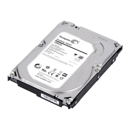 "SSHD 1TB Seagate Desktop ST1000DX001 3.5"" - second hand"