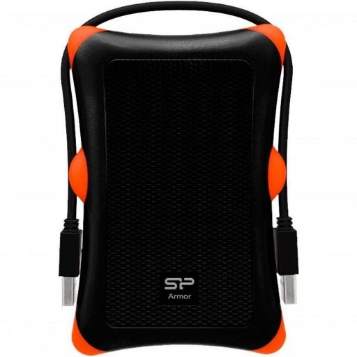 "Rack extern Silicon Power SP000HSPHDA30S3K pentru HDD/ SSD 2.5"", USB 3.0 - black"