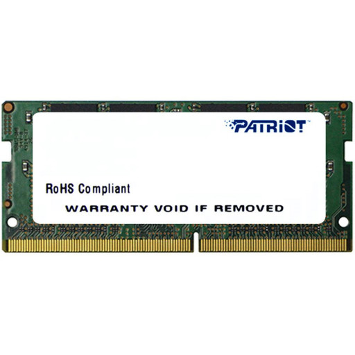 Memorie notebook DDR4 4GB 2400 MHz Patriot, CL17 1.2V