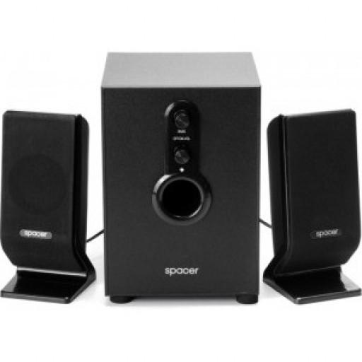 Boxe 2.1 Spacer SPB-2200, 11W, Black