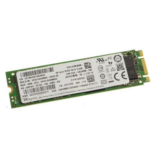 SSD SK Hynix SC300 512GB M.2 2280 SATA-III - second hand