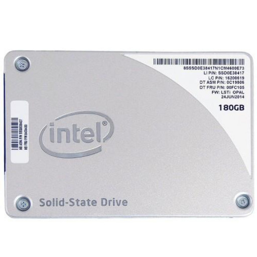 "SSD Intel 1500 Pro 180 GB 2.5""- second hand"