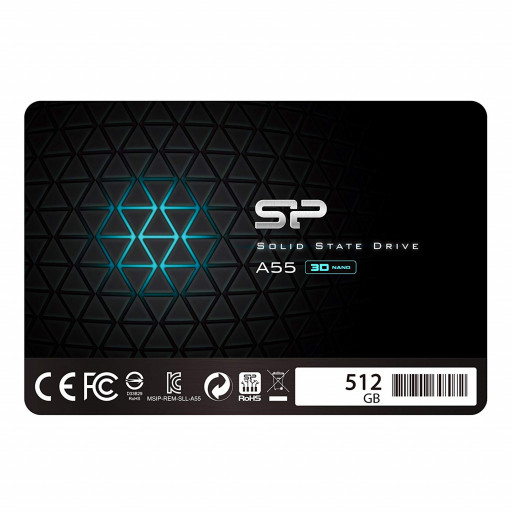 "SSD Silicon Power Ace A55 (SP512GBSS3A55S25) 512 GB 2.5"" - nou"