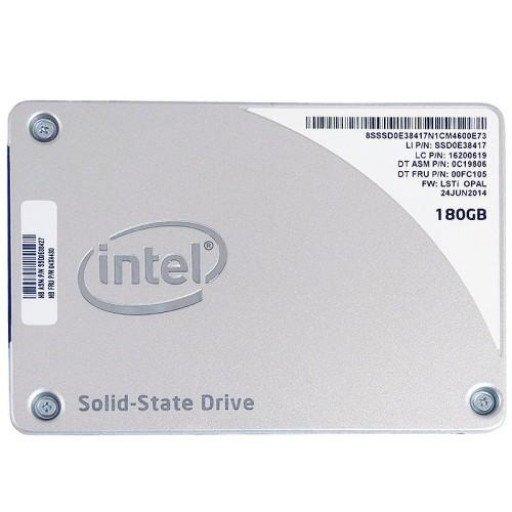 "SSD Intel 1500 Pro 180 GB 2.5""- second hand"
