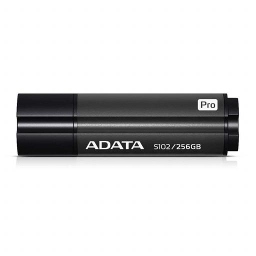 Stick USB 3.2 256 GB A-Data S102 Pro Advanced AS102P-256G-RGY - Titanium Gray