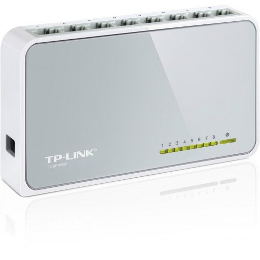 Switch 8 porturi TP-Link TL-SF1008D -10/100 Mbps