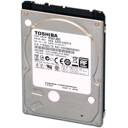 "HDD notebook 320 GB S-ATA Toshiba 2.5"" - reconditionat"