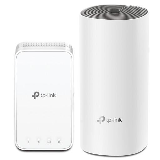 Sistem Wi-Fi Mesh TP-Link Deco E3 (2-pack) - 867/300 Mbps